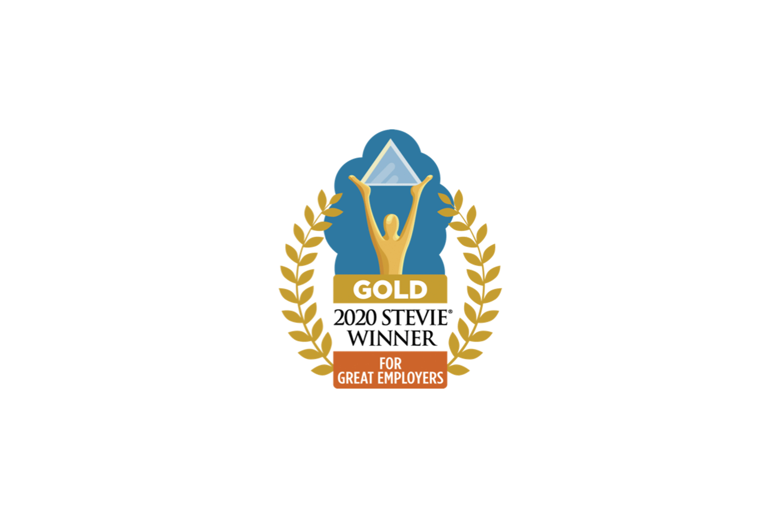 2020 Stevie Winner Gold