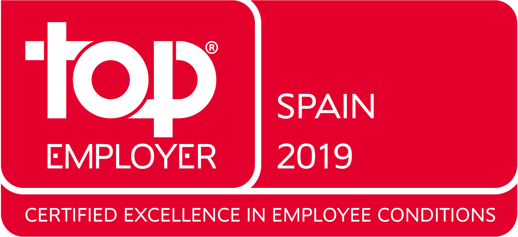 Top employer Spain 2019