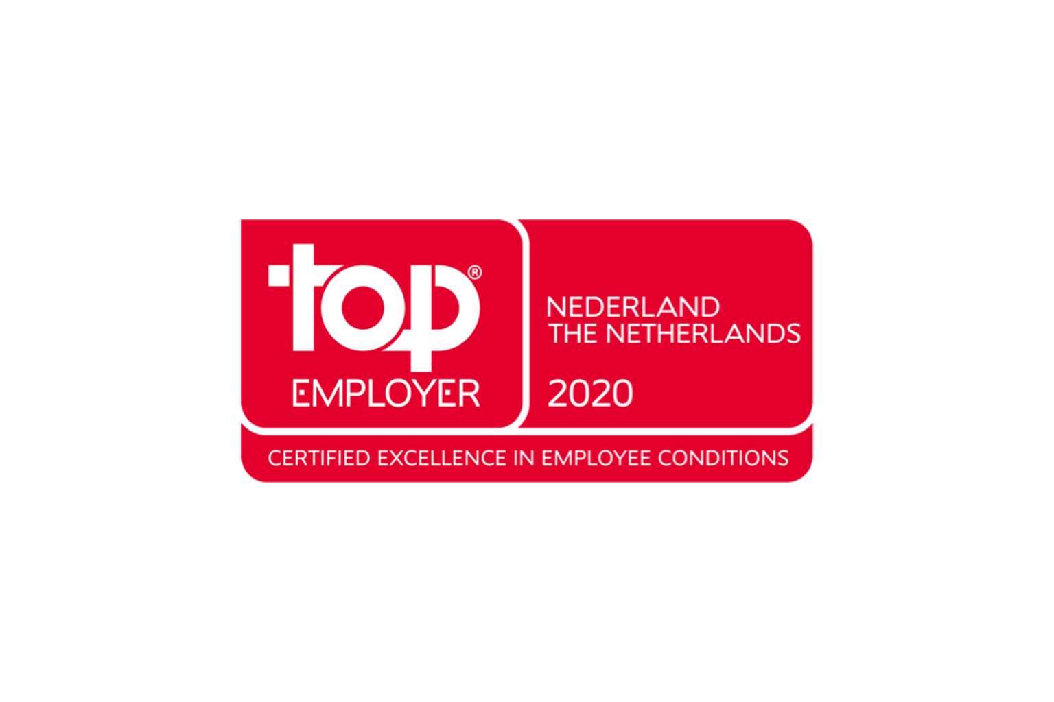 Top Employer Netherlands 2020